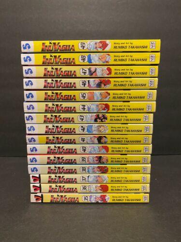 Inuyasha Manga Lot vol 35-49, 55, 56 Viz Media (English) *READ DESCRIPTION*