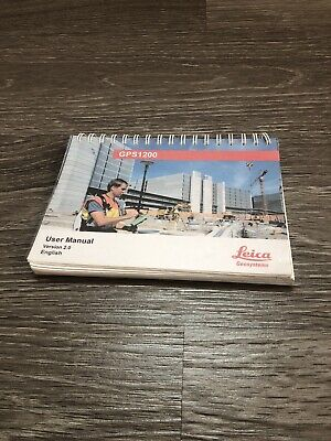 Leica Gps 1200 User Manual For Surveying