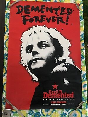 Cecil B Demented Movie Poster John Waters Double Sided for sale  Kansas City