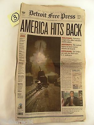 Detroit Free Press  October 8  2001  9   11  World Trade Center  12 99  Freeship