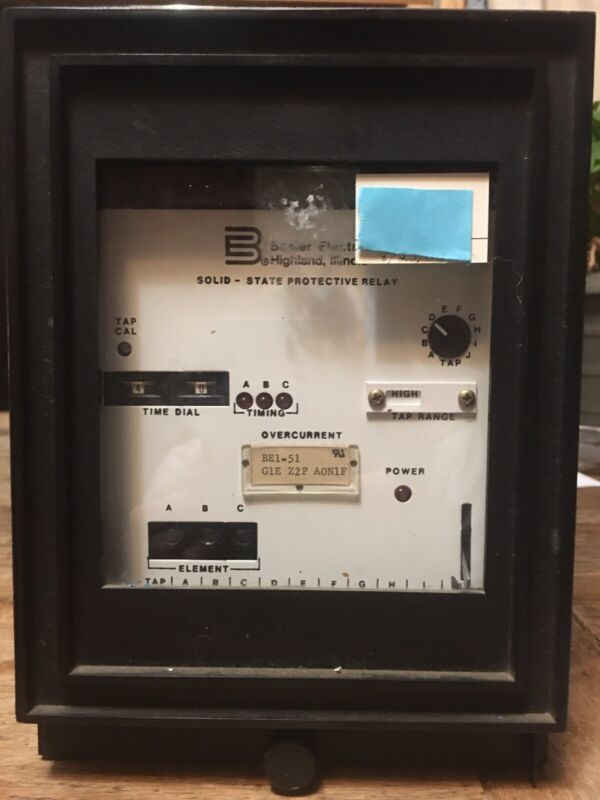Basler Electric BE1-51 Time Overcurrent Relay