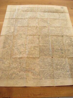 alte Landkarte Karte 1 WK Polen von 1915 Iwje Ljubtscha Nowogrodek Korelitschi