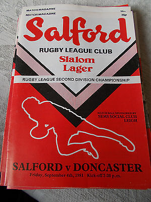 18.9.81 Salford v Bramley programme