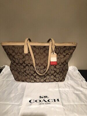 Coach Legacy Weekend Signature Tote
