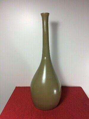 Jill Rosenwald by Magenta Inc. Dark Green Tall Vase