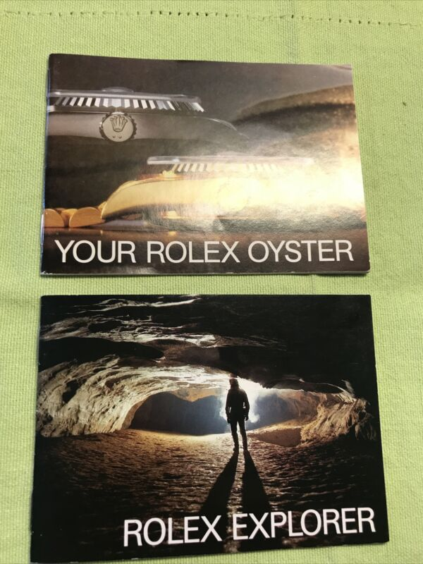 Rolex Vintage 1984 Explorer Booklets Set. USA English❗️