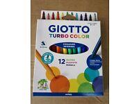 NEU Lyra Giotto Turbo Glitter 8er Set