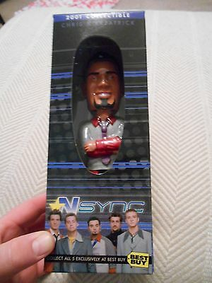 Chris Kirkpatrick Exclusive 2001 BEST BUY Collectible Bobble Head, NSYNC