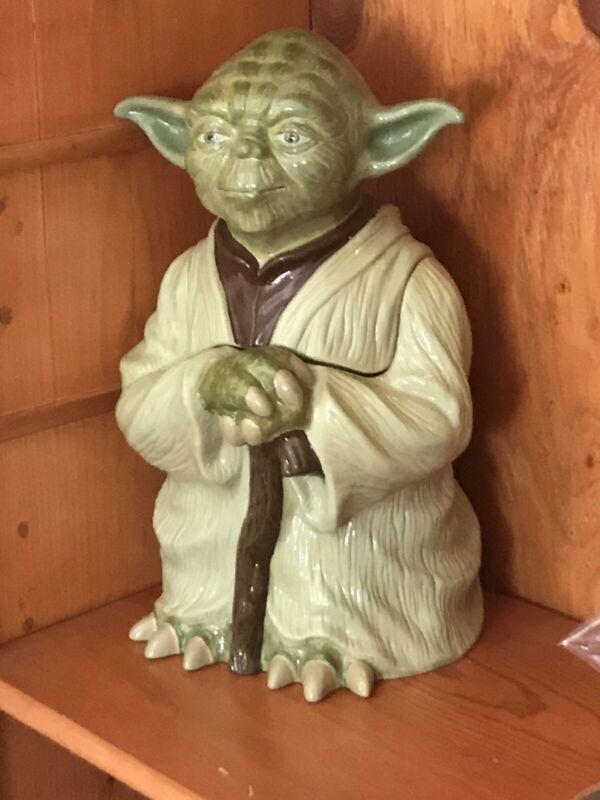 Star Wars Yoda Cookie Jar