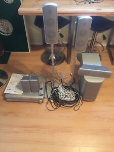 Surround sound system / DVD player
