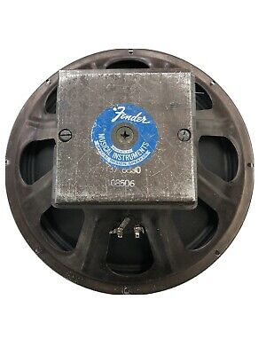 """1969 Fender  15"""" Bassman Speaker Excellent Condition Rare segunda mano  Embacar hacia Mexico"""