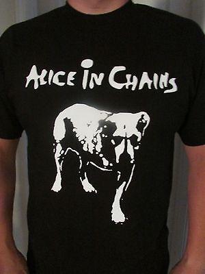 Alice In Chains Punk Rock Alternative Unisex Sizes T Shirt