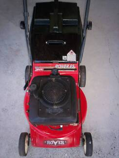 BRIGGS STRATTON 4 STROKE,ROVER SERVICED LAWN MOWER!CATCHER. Runcorn Brisbane South West Preview
