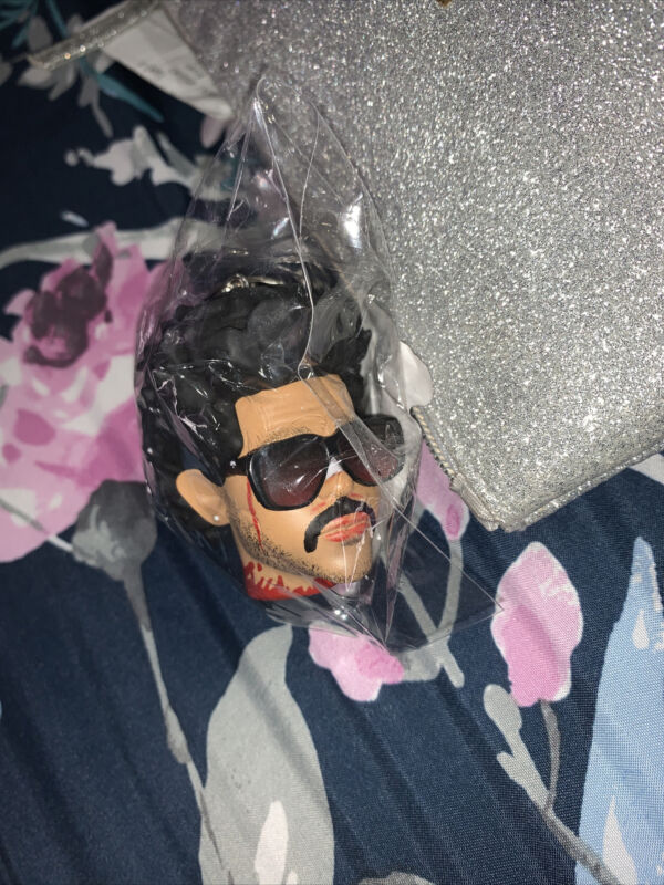 THE WEEKND AFTER HOURS 3D SCULPTED KEYCHAIN BLINDING LIGHTS