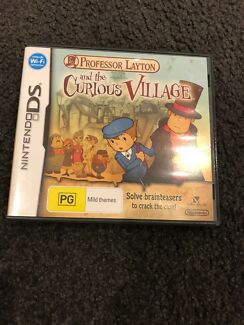 Nintendo Ds Professor Layton and Curious Village