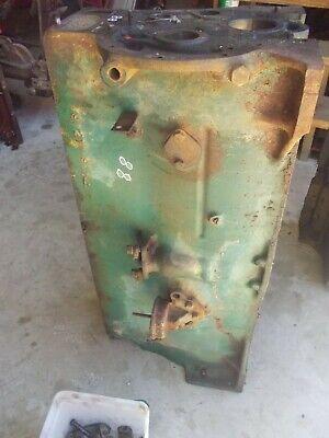 Oliver 88 Tractor Gas Engine Motor Block Stuck Pistons