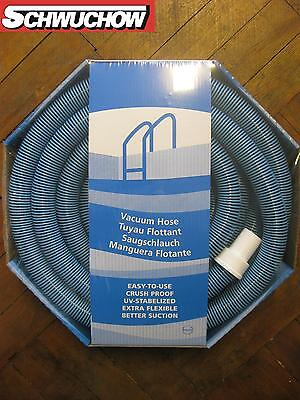 Suction Hose Swivel Rowin Triflex 38mm Black/Blue 9m Pool Pond Hose