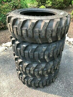 4-27x8.50-15 Hd Skid Steer Tires-27-8.50-15- Galaxy Xd2010 -for Case More
