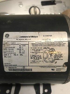 Taylor Ice Cream Machine Parts 1.5hp 3 Phase Motor