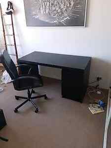 Home office desk and spinning chair Coogee Eastern Suburbs Preview