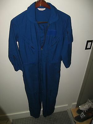 Ind Pilot (Flight Apparel Ind Vintage Pilot Flight Jump Suit Nomex Hammonton Airport NJ USA)