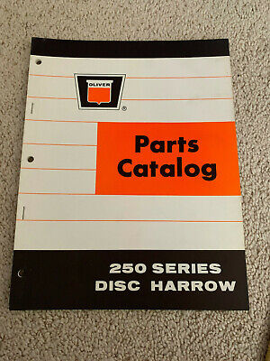 Oliver Parts Catalog 250 Series Disc Harrow