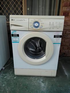 Lg intellowasher 7kg front loader washing machine