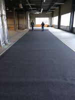 Commercial carpet sale and installation