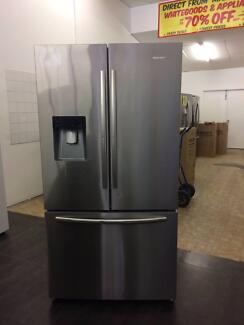 DISCOUNT ELECTRICAL HISENSE 630L FROST FREE SS FRENCH DOOR FRIDGE