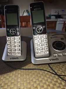 2 vetch house phones with answering machine