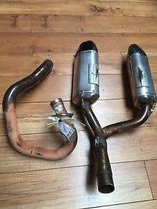 YOSHIMURA EXHAUST SYSTEM TO SUIT HONDA CRF 450 2012 St Agnes Tea Tree Gully Area Preview