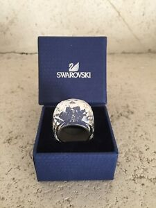 New In Box Swarovski Crystal Rings - Cry Ring and Jet Ring