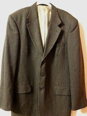 Oscar De La Renta Sports Coat 42R  54%  Silk 46% Wool 3 button Blazer Lined