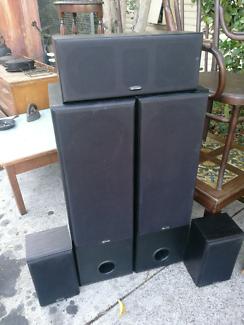 Home speakers Db Dynamics 5speakers