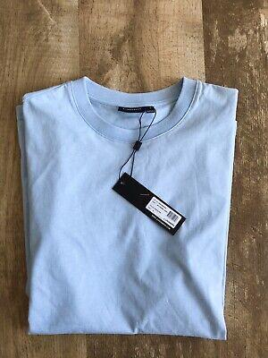 J Lindeberg Mens Tshirt Small Blue