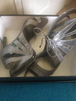 Silver Lace Up bcbgeneration Herld - Size 9.5