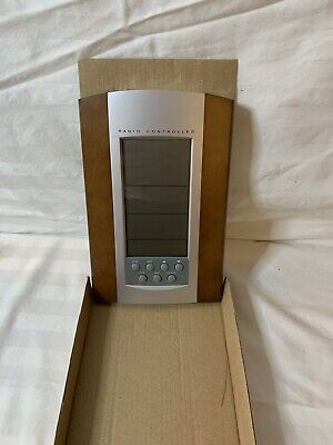 Radio Controlled - Thermo - Calendar - Alarm Clock - New In Box