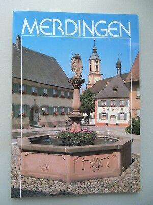 Merdingen Rebdorf am Tuniberg reich an Geschichte und Kunst Festschrift