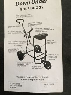 Golf Buggy - Spring loaded SmoothyDown Under