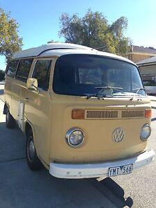 Kombi Camper Van White Gum Valley Fremantle Area Preview