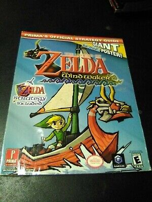 The Legend of Zelda The Wind Waker Prima's Official Strategy Guides Water Damage