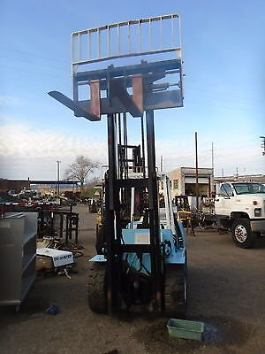 Hyster H-90xl Only Mast With Carriage With Side Shift And Forks