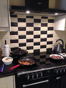 black tile kitchen taker italian black or wall tiles 15 x 7 5cm 1708