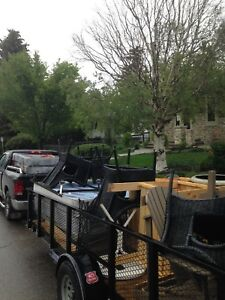 ( $15 & up ) cheapest junk hauling / removal. #587-438-4855