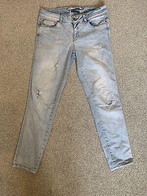 Zara Skinny Ripped Jeans Size EUR 38 UK10