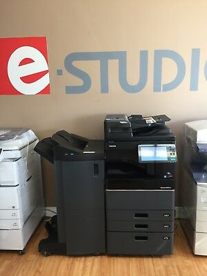 Toshiba E-studio 3505ac Color Bw Print-scan-fax Low Meterfinisher Included
