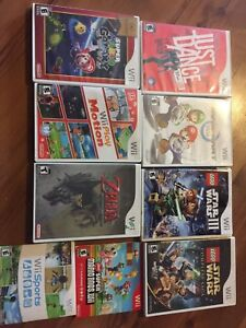 Collection of Wii Games for Sale