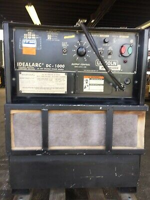 Lincoln Idealarc Dc-1000 Submerged Arc Welder