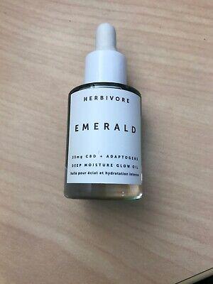 Herbivore EMERALD Deep Moisture Glow Oil ~ 0.34 oz / 10 ml ~ NEW FREE SHIP