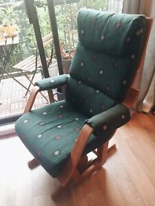 Vintage Glider Rocking Chair